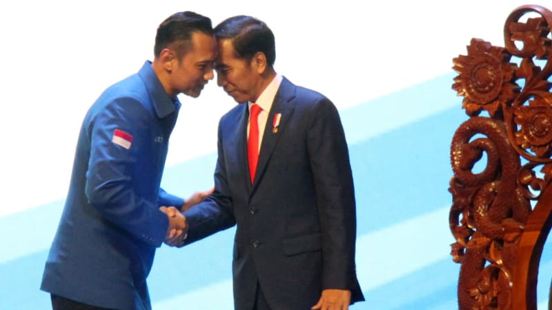 AHY dan Jokowi