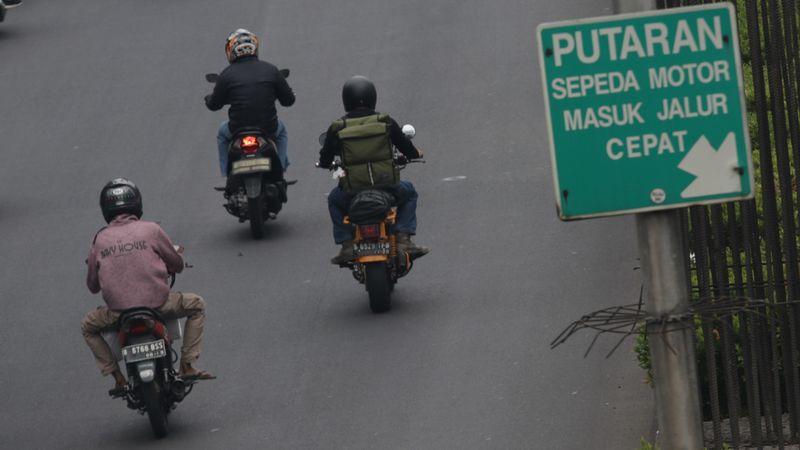 Uji Coba Larangan Sepeda Motor