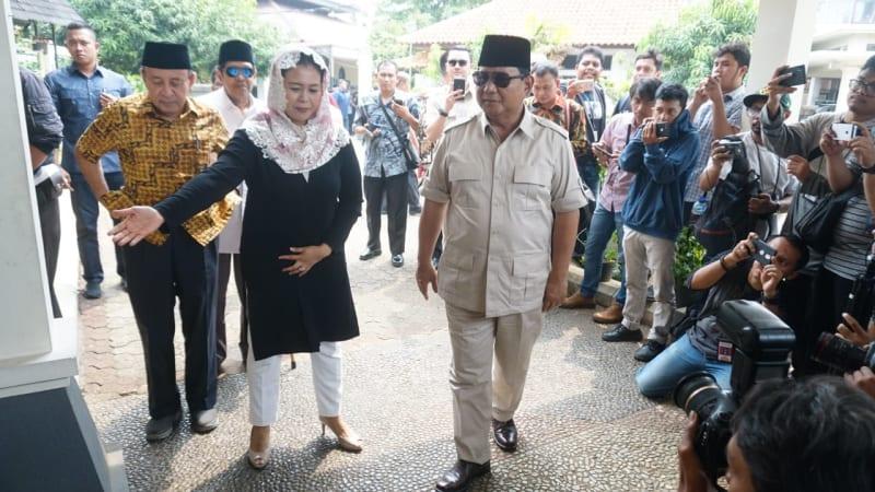 Prabowo Subianto, Yenny Wahid, Ciganjur