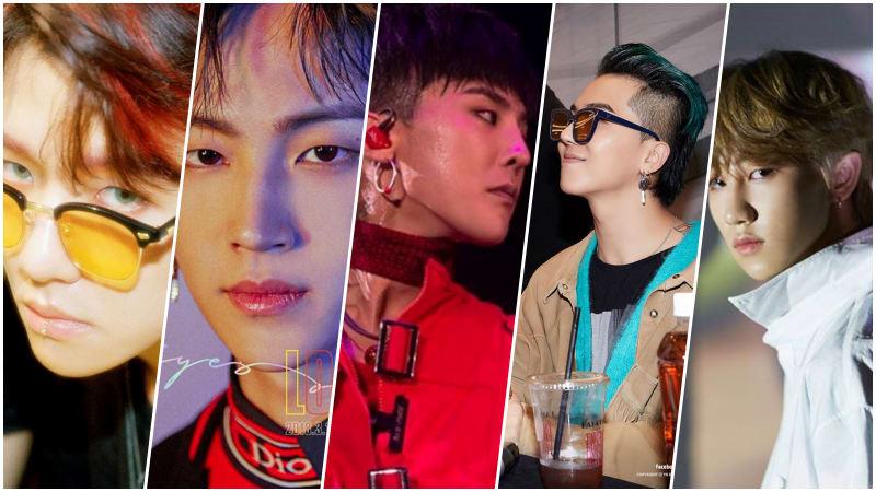 Idola K Pop Dengan Gaya Rambut Mullet