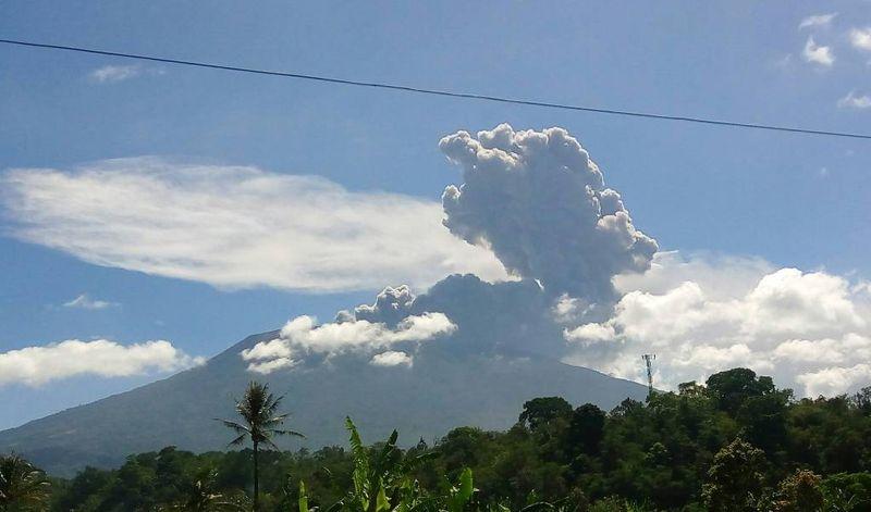 Erupsi Gunung Marapi