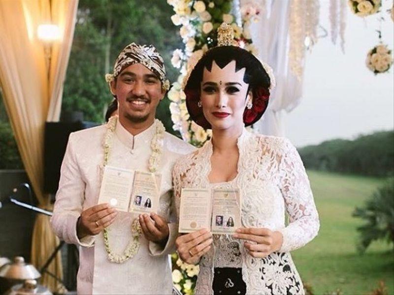 Pernikahan Alexandra Gottardo dengan Arief Waworuntu