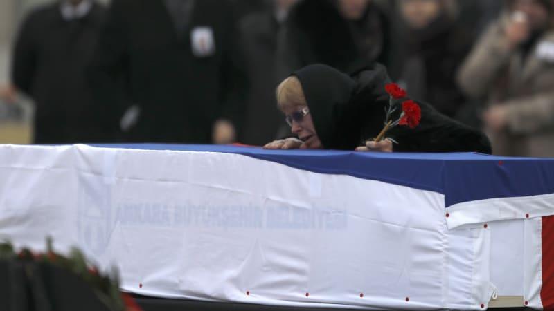 Pemakaman Dubes Rusia untuk Turki