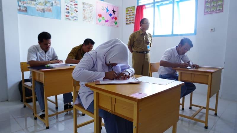 4 Siswa Penyandang Disabilitas Di Banda Aceh Ikut Unbk Secara Manual