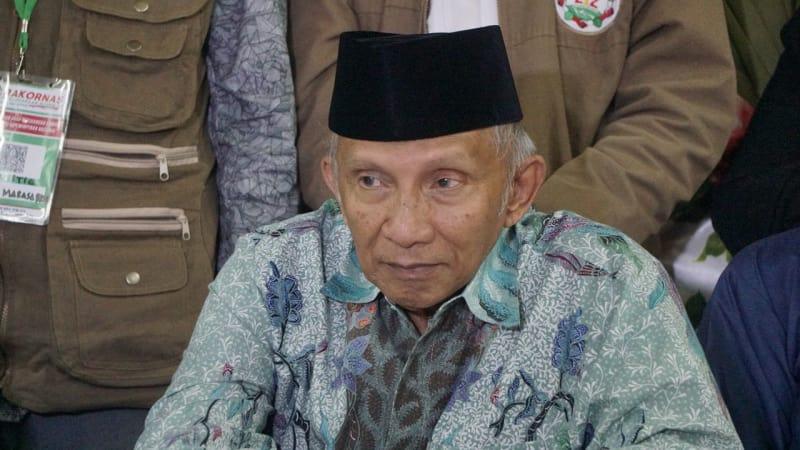 Amien Rais: Bisa-bisa NKRI Hilang Kalau Jokowi Terpilih Lagi