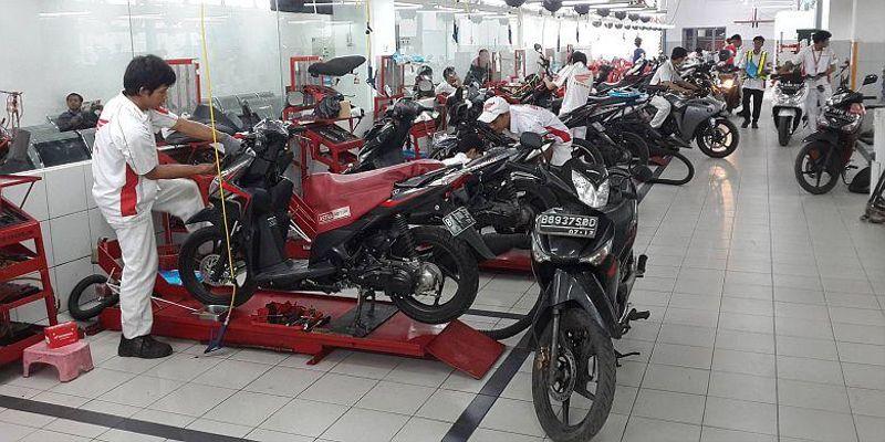 Ilustrasi Sepeda Motor