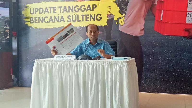 Kepala BNPB, Sutopo Purwo, Konferensi Pers, Bencana Sulawesi