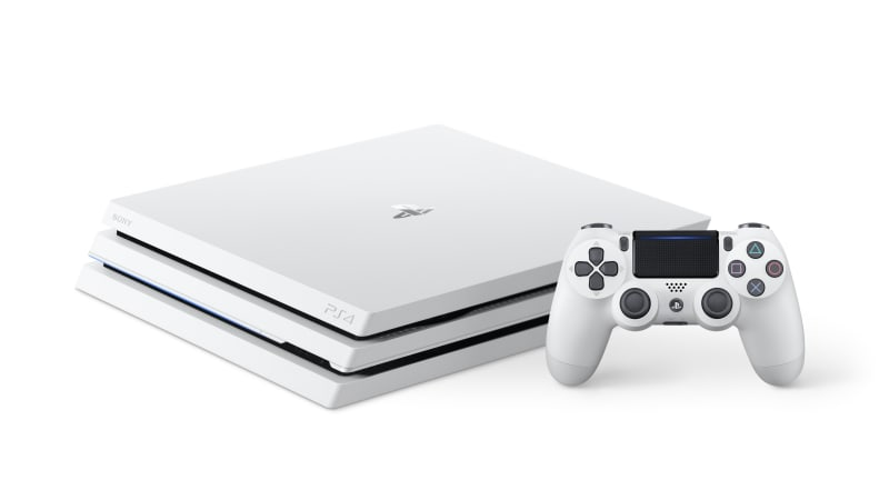 PlayStation 4 Pro Edisi Glacier White