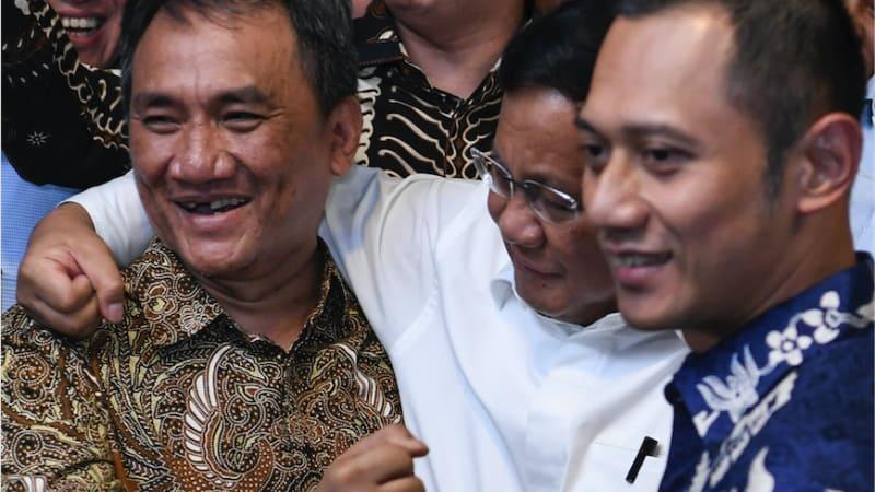 Andi Arief, Prabowo, Agus Harimurti