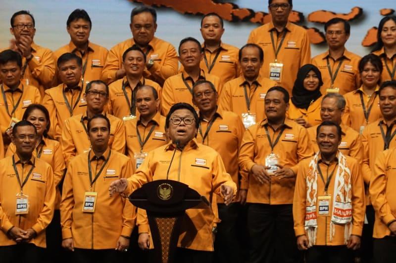 Pengukuhan pengurus baru DPP Hanura