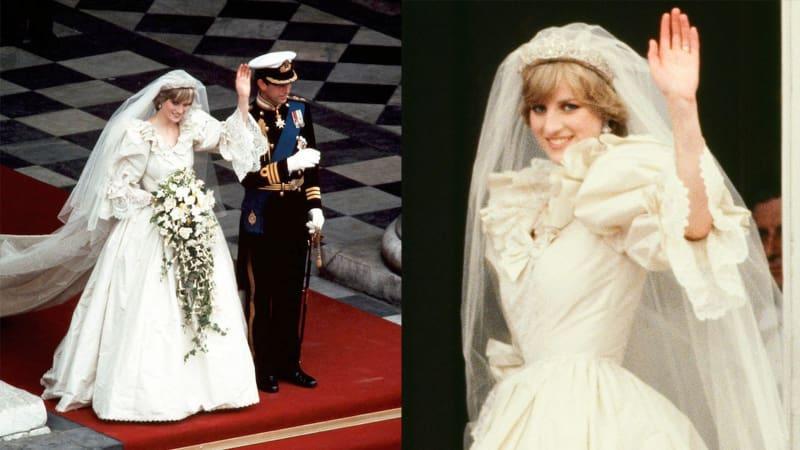 Baju Pengantin Putri Diana