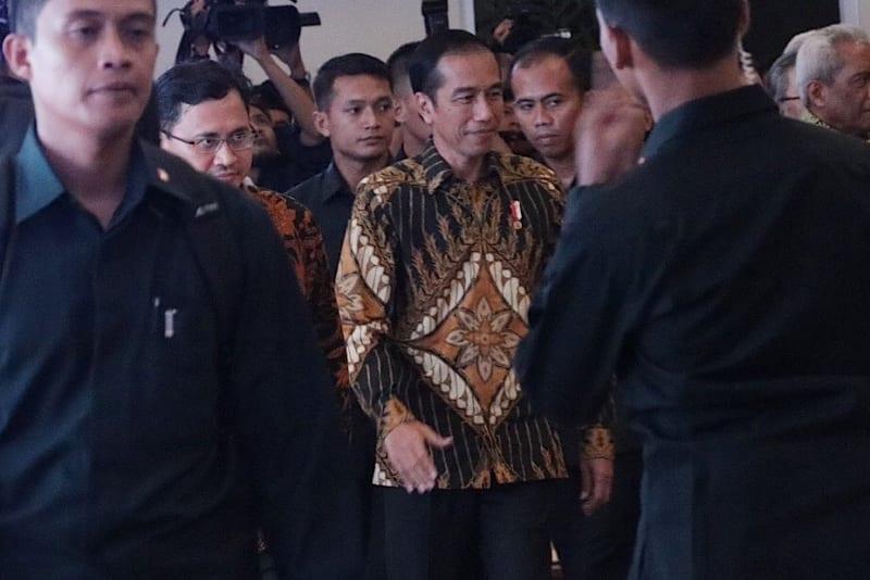 Presiden Jokowi Menghadiri Acara Munaslub Partai Hanura