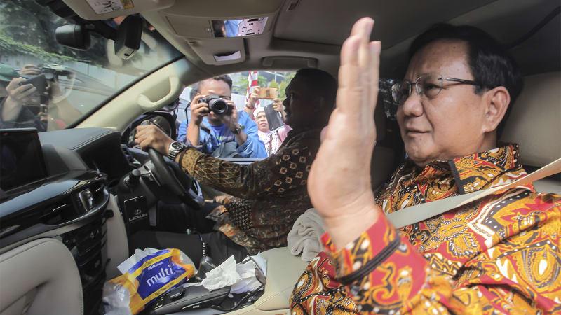 Prabowo Subianto, SBY