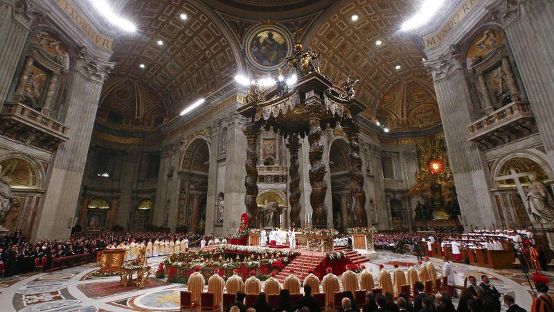 Misa Malam Natal 2016 di Vatikan