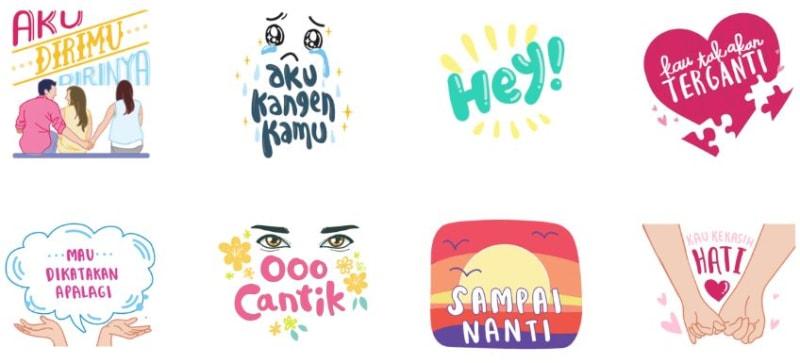 com-Sticker Lagu Kahitna