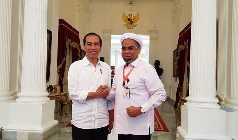 Ali Mochtar Ngabalin menjadi jubir Jokowi