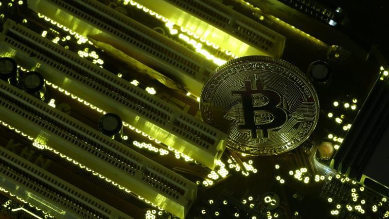 Ilustrasi Bitcoin