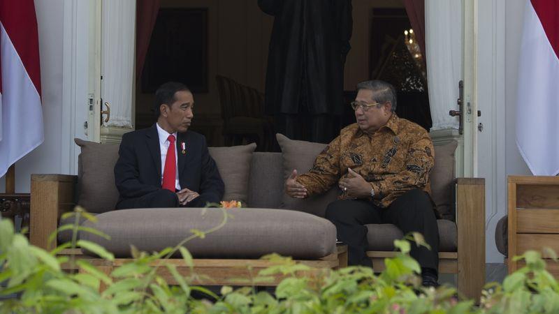 Jokowi bertemu Susilo Bambang Yudhoyono (SBY)