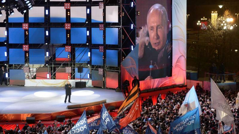 Vladimir Putin di Pemilu Rusia
