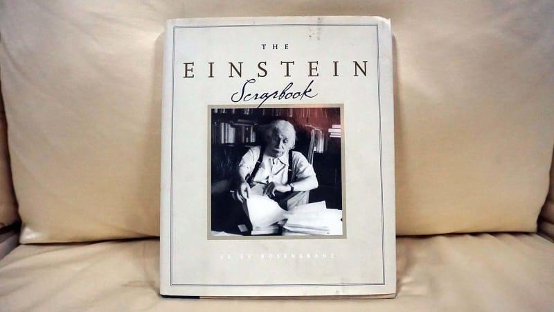 Koleksi buku Albert Einstein milik Rizal Ramli