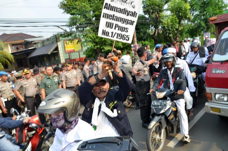 Demo tolak kegiatan Ahmadiyah di Depok