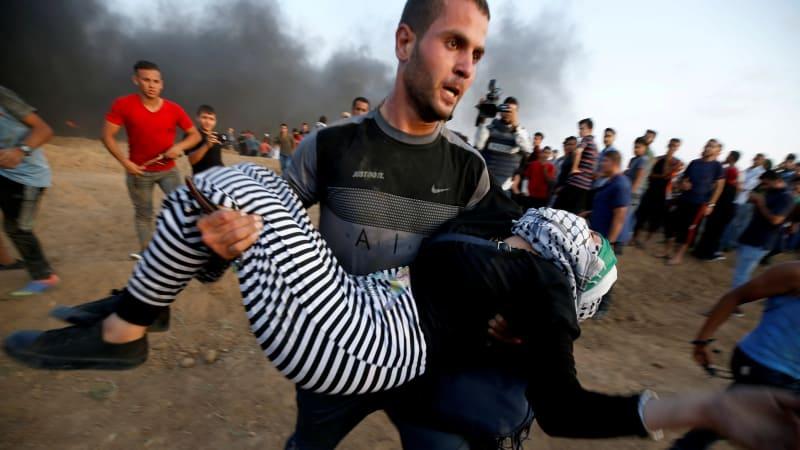 Bentrokan, Palestina, tentara Israel, perbatasan antara Israel dan Gaza
