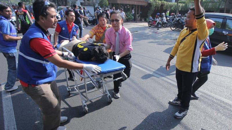 Korban ledakan di Gereja Kristen Indonesia