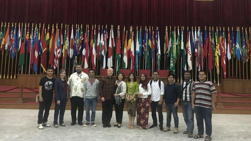 Dubes AS kunjungi Museum KAA Bandung