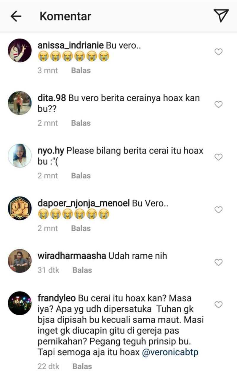 Komentar di Instagram Vero (not cov)