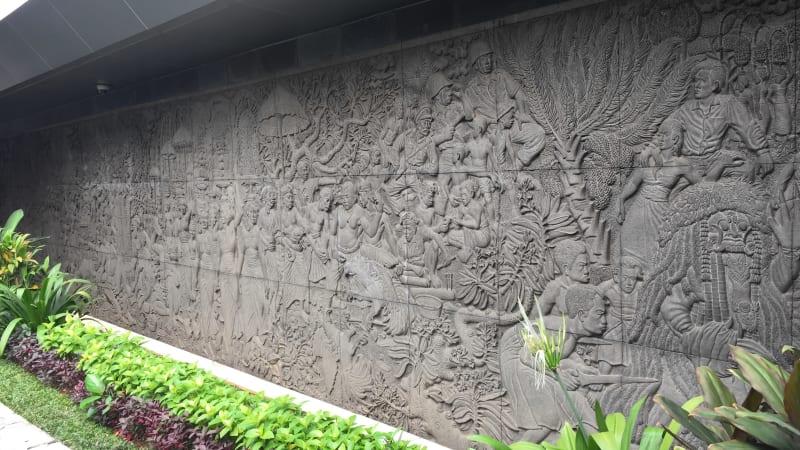 Pahatan Balinese Lifedi Hotel Indonesia