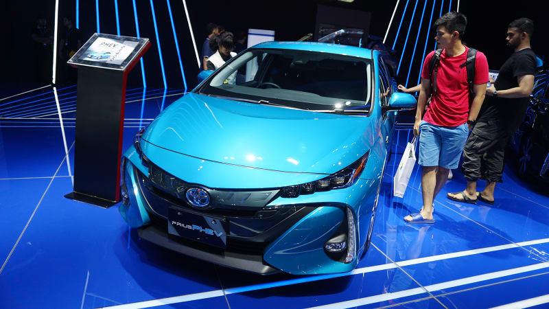 Toyota Tampilkan Kendaraan Elektrifikasi Melalui Display Unit Special Exhibit
