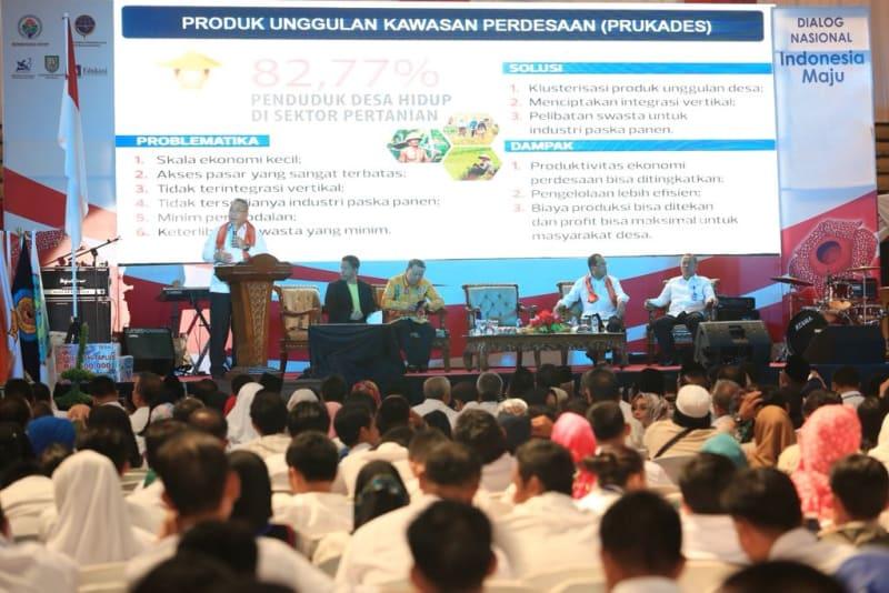 Mendes PDTT Menjadi Pembicara di Dialog Nasional