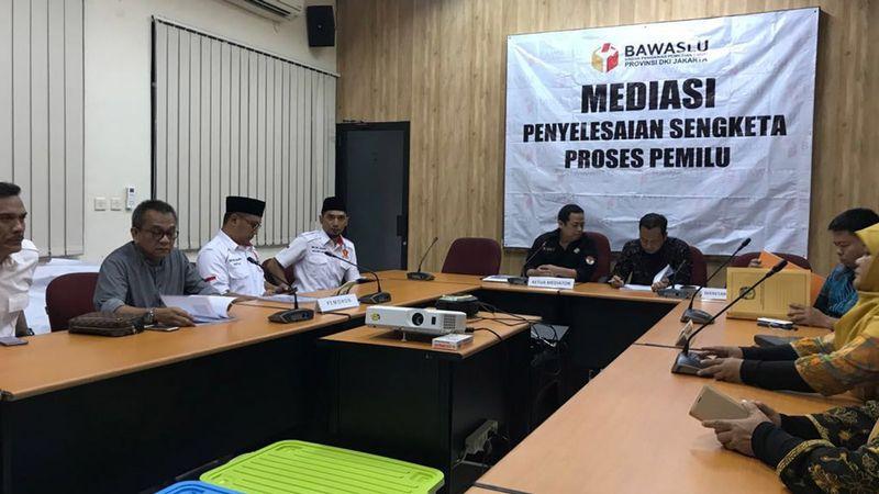 Mediasi Sengketa Pemilu , Ketua DPD Gerindra DKI M. Taufik