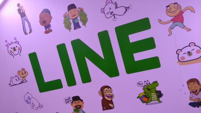 Aplikasi pesan instan Line