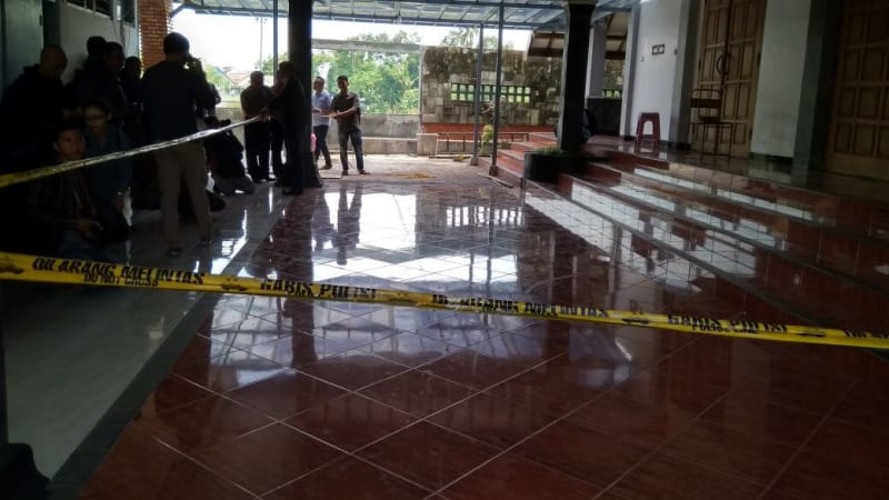 Gereja Bedog Yogyakarta Diserang
