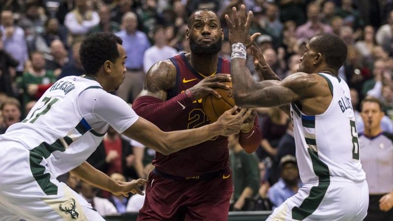 LeBron James dan Cavs takluk di tangan Bucks