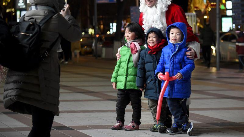 Ilustrasi anak kecil di Cina