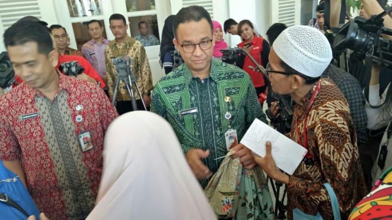 Anies Baswedan menemui 47 orang warga Bukit Duri