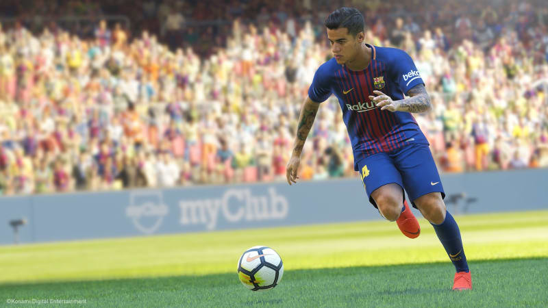 Philippe Coutinho di PES 2019