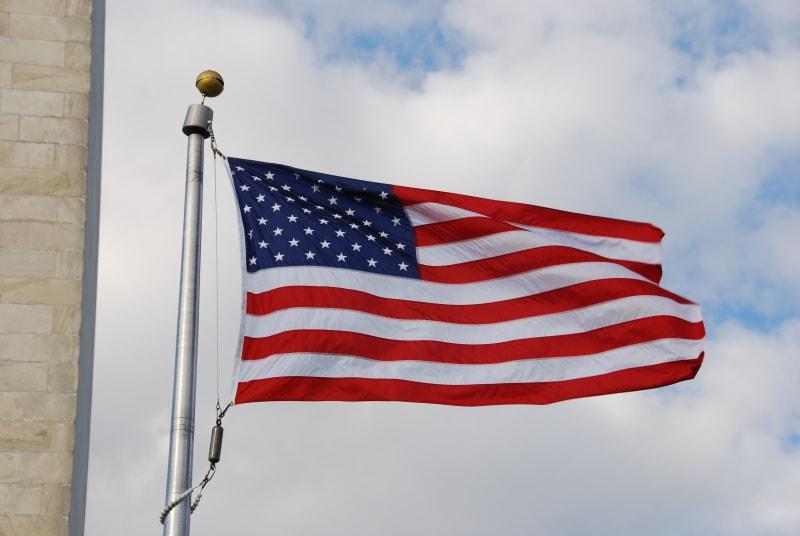 Ilustrasi Bendera Amerika Serikat