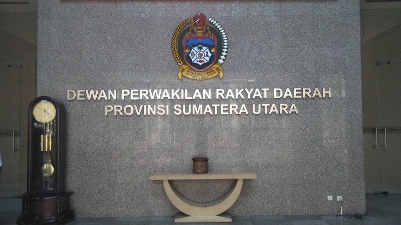 Kantor DPRD Sumut.