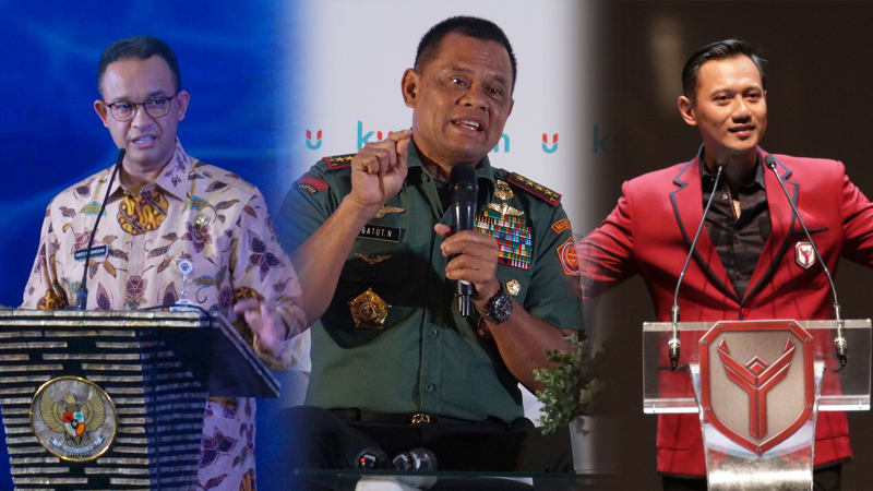 Anies Baswedan, Gatot Nurmantyo & Agus Yudhoyono
