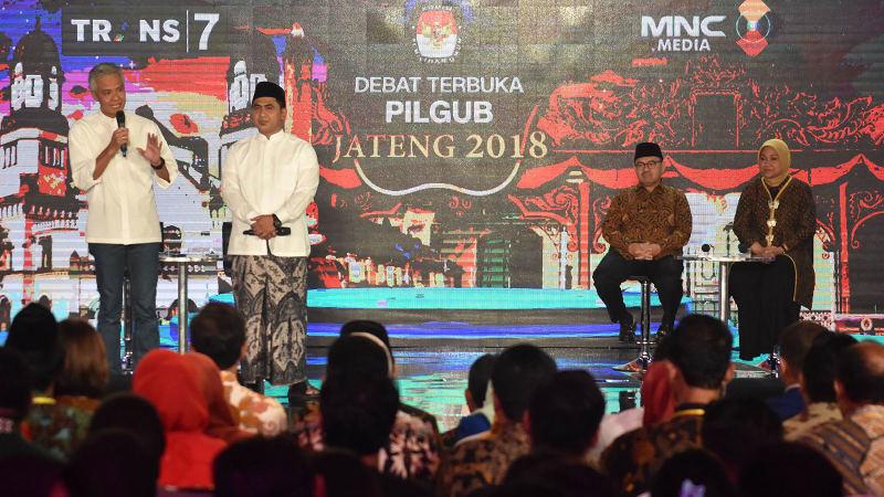 Debat Terbuka Pilgub Jateng