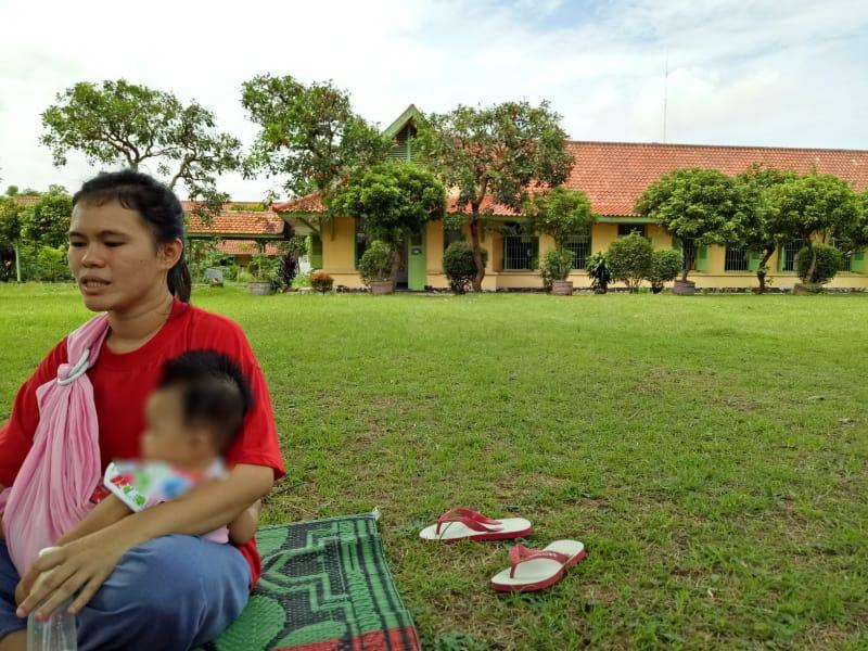 Seorang Narapidana dan Bayinya di Lapas Tangerang