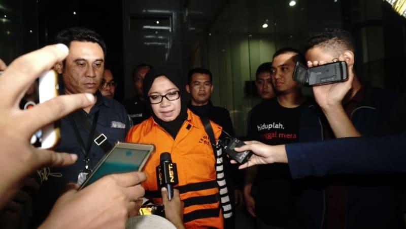 Eni Maulani Saragih Ditahan KPK