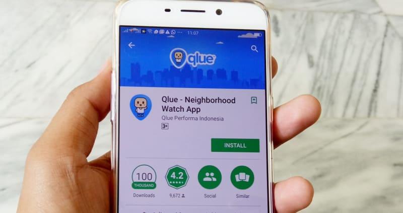 Ilustrasi Qlue