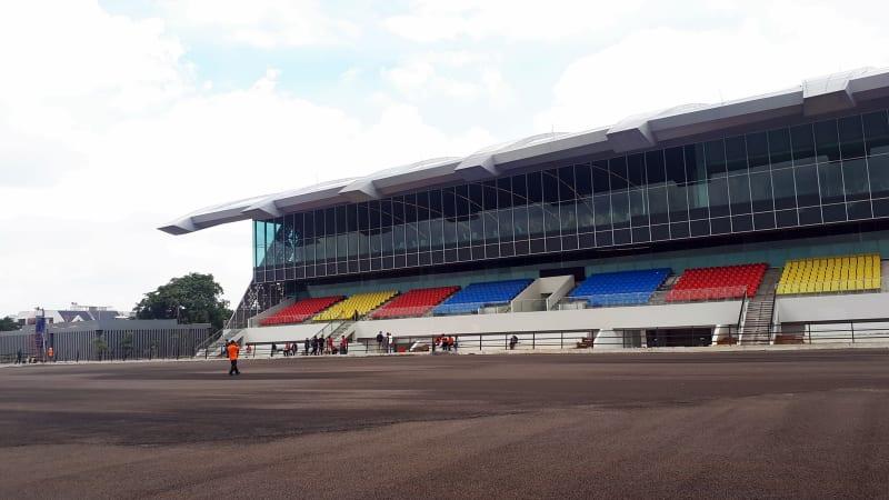 Jakarta Internasional Equestrian Park Pulomas.