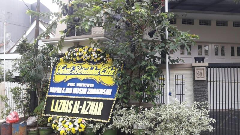 Rumah korban pembunuhan pasturi warga Benhil