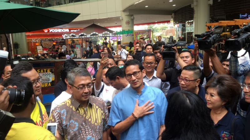 Sandiaga Uno, Jakarta