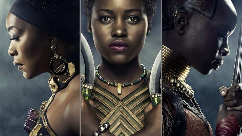 Tokoh wanita di Film 'Black Panther'